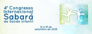 banner do 4º Congresso Internacional Sabará de SaúdeInfantil