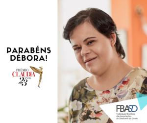 Débora Seabra de Moura, vencedora do Prêmio CLAUDIA 2018