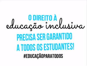 A educação é um direito de todos
