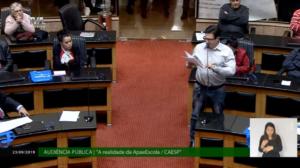 Audiência pública aponta rejeição ao projeto Apae-Escola