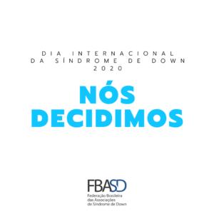 Dia Internacional da Síndrome de Down 2020