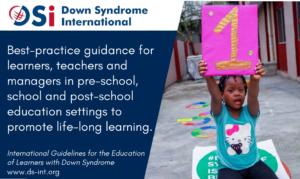 Diretrizes internacionais para a educação de alunos com síndrome de Down