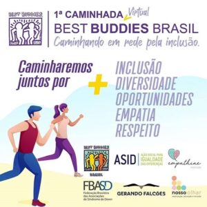 1ª Caminhada Virtual Best Buddies Brasil