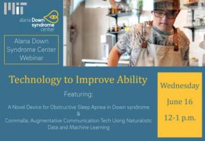 Seminário do Alana Down Syndrome Center: Technology to Improve Ability