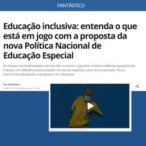 Educação inclusiva: entenda o que está em jogo com a proposta da nova Política Nacional de Educação Especial.